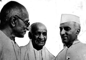 Ganghi Nehru Patel