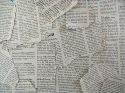 Torn Newspapers