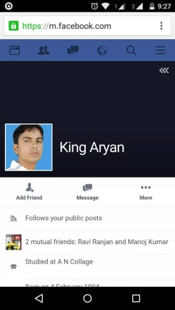 King of Facebook