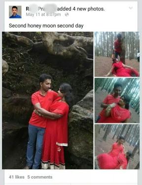 12. Second honeymoon